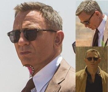 2020 James Bond Sunglasses Men Brand Designer Sun Glasses Women Super Star Celebrity Driving Sunglasses Tom for Men Eyeglasses
