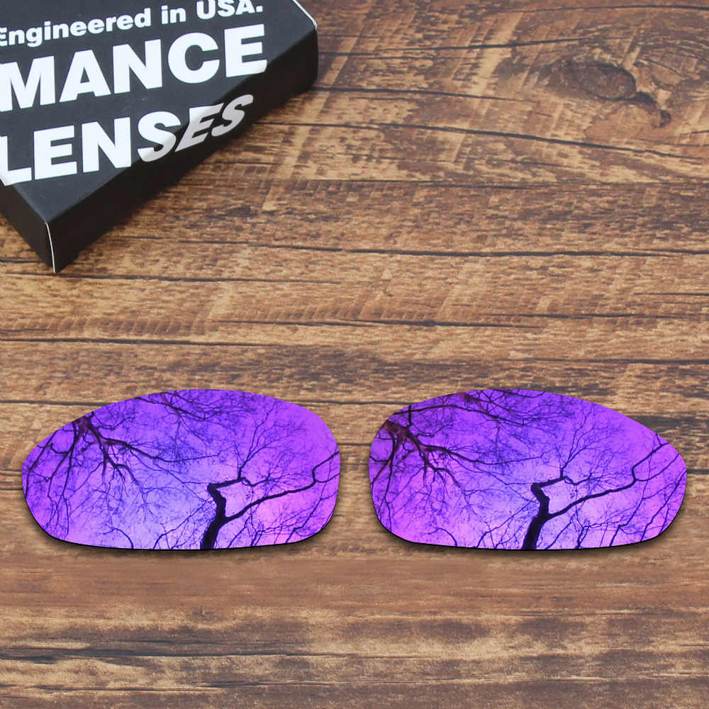 8a747b16636 ToughAsNails Polarized Replacement Lenses for Oakley Juliet Sunglasses  Purple Mirrored (Lens Only)