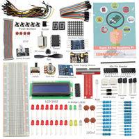 Precio SunFounder DIY Super Kit para Raspberry Pi 4B 3B + 3B 2B + B + A + cero con GPIO Placa de extensión saltar de alambre (Pi no incluido)
