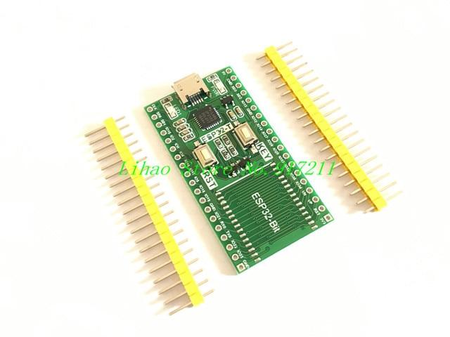 5PCS/LOT ESP32 module development board a key download ESP32-Bit/3212 Bluetooth WiFi|eBox Download