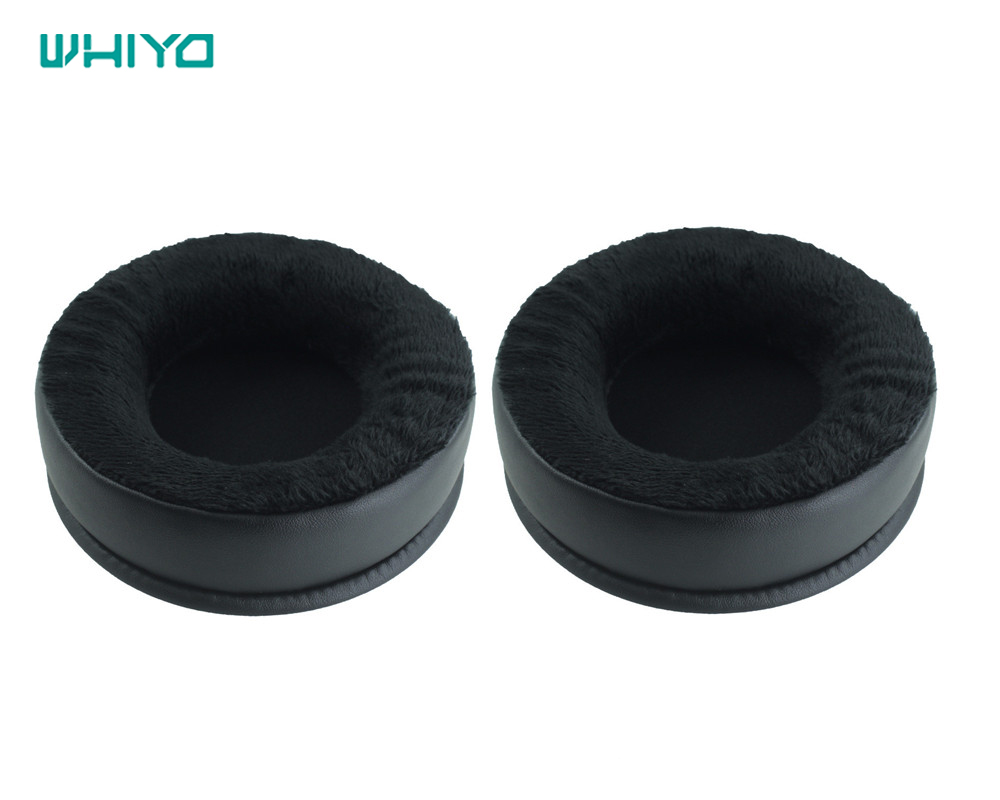 Whiyo 1 pair of Replacement Ear Pads Cushion Cover Earpads Pillow for Superlux HD681EVO <font><b>HD668B</b></font> HD681 HD681B HD662 Headphones image