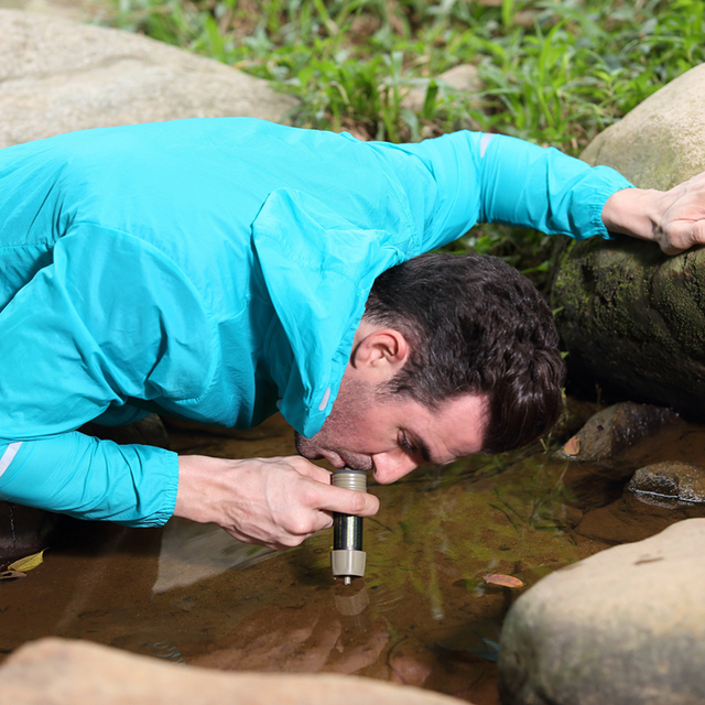 Miniwell survival water purifier for outdoor sport and activities  1