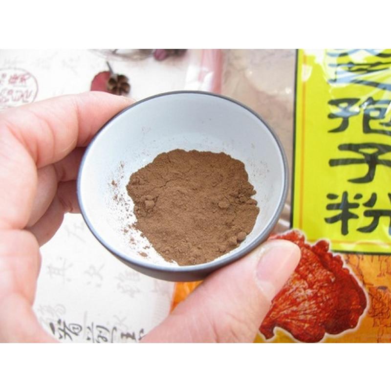 500g*2bag(1kg) Ganoderma Lucidum, Lingzhi, Wild reishi Spore Powder herbal medicine, Anti-cancer anti-aging ganoderma @  -  Hanth shop store