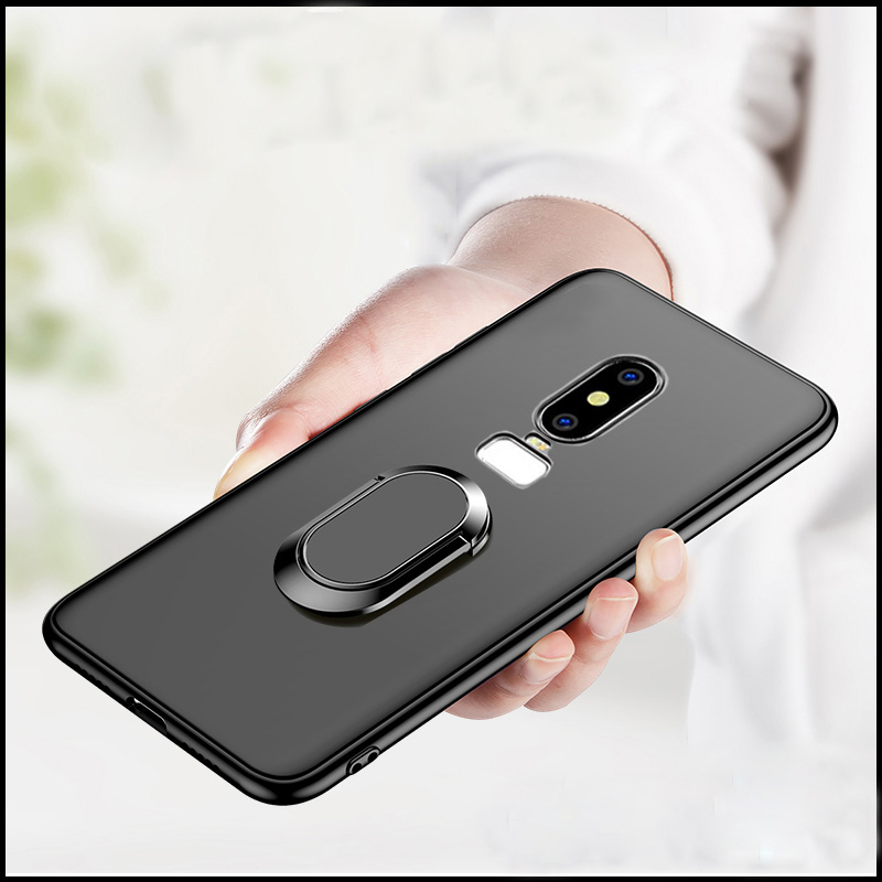 separation shoes 3d24e 41bb3 US $3.21 30% OFF|For Oneplus 3 3T Case Oneplus 5 5T 6 6T Silicone Cover  Magnetic Magnet Car Finger Ring Case For Oneplus 6T One Plus 6T-in Fitted  ...