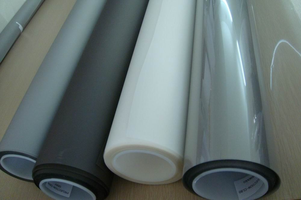 Free Shipping! (On sale!) 0.6m * 1.5m Carbon Black Rear Projection Screen Film on sale 100