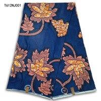 Bardzo piękne Afryki tkaniny woskiem, Gwarantowana Afryki tkaniny woskiem rzeczywistym, Afryki codzienne ubrania T612NJ001-004 wax tkanin drukowanych