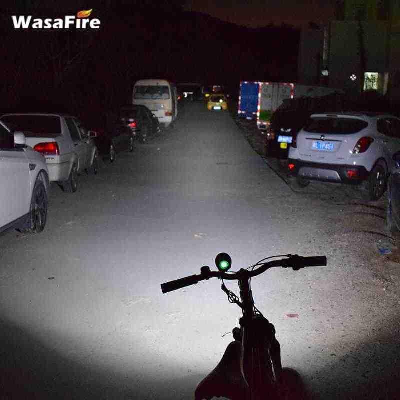 Étanche XM-L T6 led vélo lumières 2000 lumen en aluminium vélo lumière lampe frontale vélo accessoires lampe de poche pour vélo + batterie pack