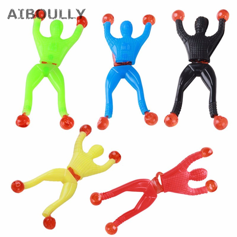 12pcs Sticky Climber Men Sticky Wall Climbing Kids Party Favors Toys Fun Supplies for Kids brithday gift