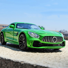 1:32 Scale Alloy Sport Car Model Hot AMG GT GTR Diecast Vehicle Wheels Toys Educational Sound Light Racing Auto Toy For Kids