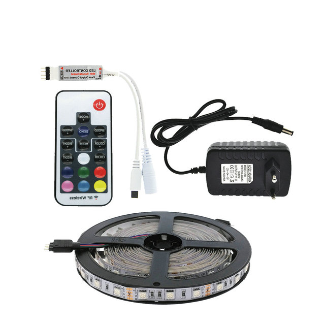 LED Strip Set 5050 RGB 5M/300LED Flexible Strip Light + 17key RF Wireless  Remo Design Ideas