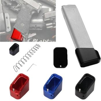 Almohadilla táctica Mag Extension Base Glock 19/23 + 4/+ 5 con + resorte 10%