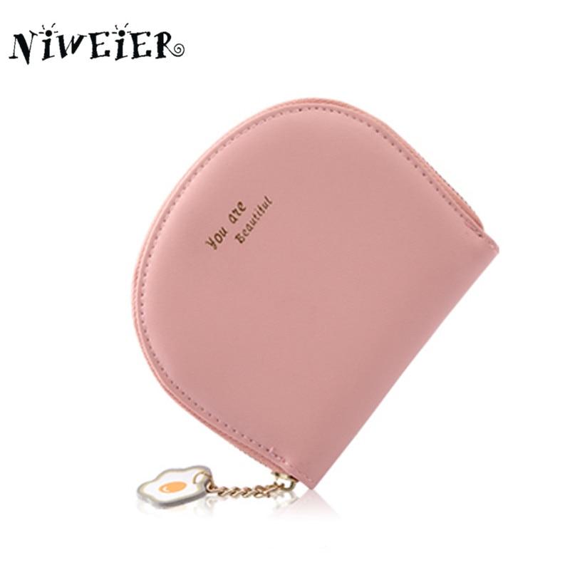 NIWEIER Brand Unique Flowers Coin Purse Fresh Delicate Cute Women Lady Girl Teenager Kid Mini Wallet With Key Chain Clutch