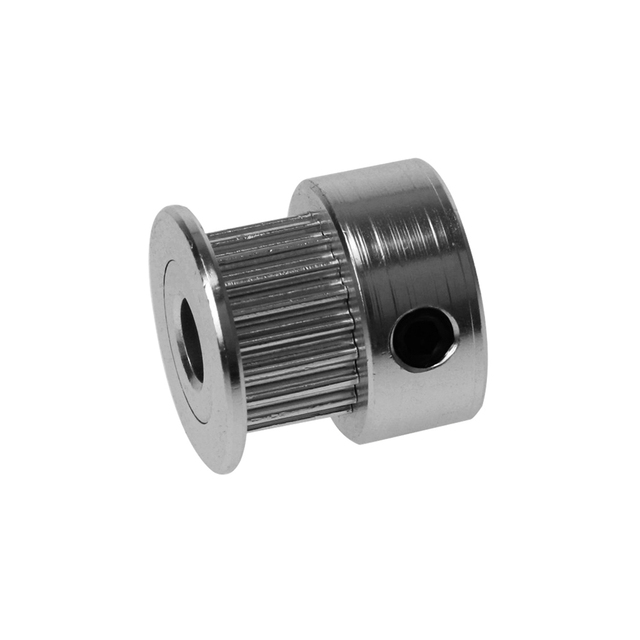 GT2 20 Teeth Bore 5mm Bore Timing Alumium Pulley Fit for GT2-6mm Open Timing Belt