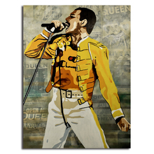 Freddie Mercury Poster Queen Band Canvas Posters Prints Wall Art Painting Decorative Picture Modern Home Decoration Accessories