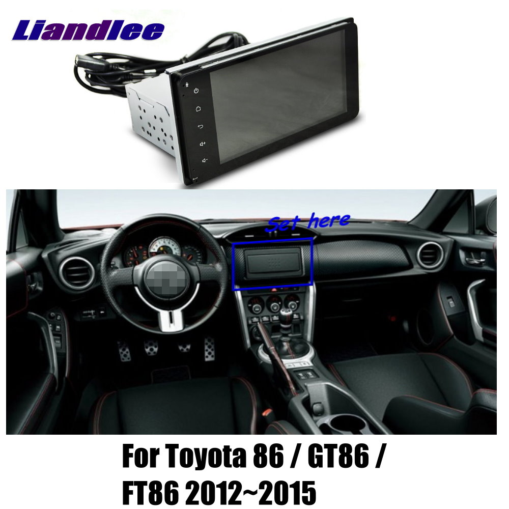 Liandlee 7 For Toyota 86 GT86 FT86 2012 2015 Car Android Radio Player GPS NAVI Maps