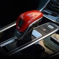 For Porsche Panamera 971 2017 2018 Car Styling Accessories ABS Car Gear Shift Cover Trim Sticker 1PCS