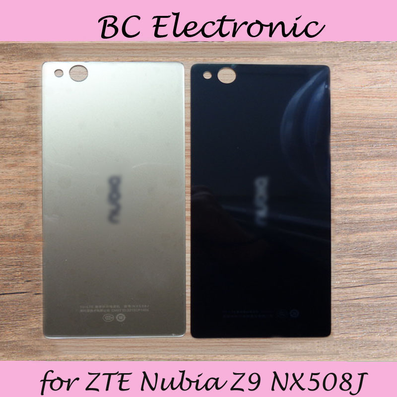 5.2 Inch for ZTE Nubia Z9 NX508J Rear Back Battery Door Cover Housing Replacement Repair Parts Black test good|repair parts|back housing|housing cover - title=