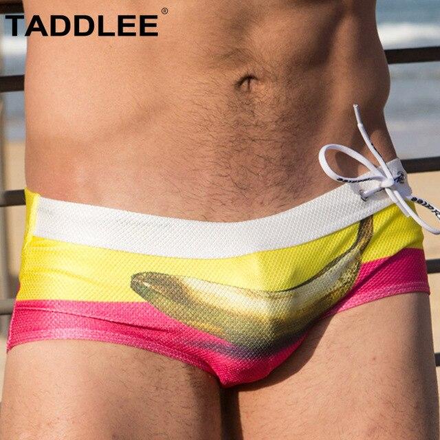 318620b9fa333 Best Price Taddlee Brand Sexy Men's Swimming Briefs Boxer Bikini Swimwear  Men Swimsuits Gay Penis Pouch