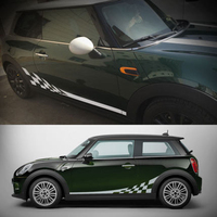 Side Skirt Body Car Decals Sticker For BMW MINI Cooper S One JCW Countryman Clubman F54