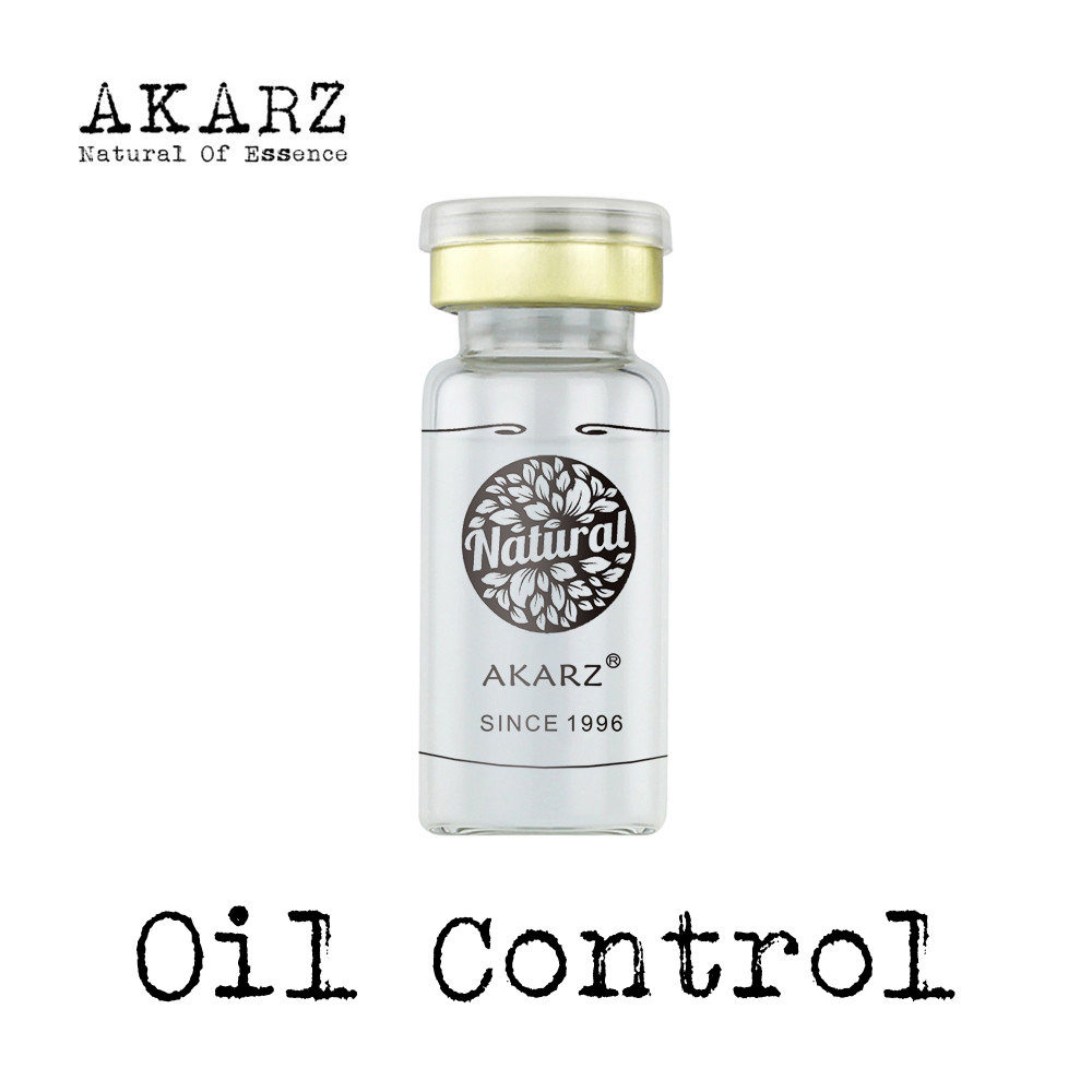 Main Effect Oil-control AKARZ Famous Brand Natural Serum Extract Essence Fade Wrinkles Anti Aging Moisturizing Skin Care