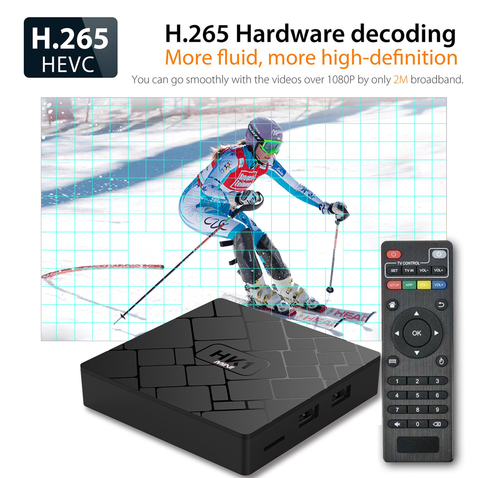 France IPTV 1 Year HK1 Mini Android 8.1 Box RK3229 2+16G IP TV 4K H.265 Decoder Arabic French QHDTV 1 Year Subscription Box  (5)