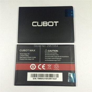 Bateria telefonu komórkowego do baterii CUBOT MAX 4100mAh oryginalna bateria o dużej pojemności akcesoria do telefonu do baterii telefonu CUBOT