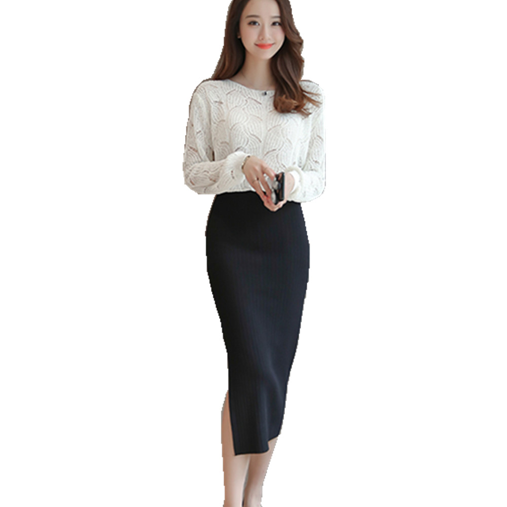 High Waisted Business Skirt Promotion-Shop for Promotional High ...