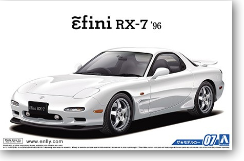 Mazda FD3S RX-7 96 1/24 Voiture Modèle 05158