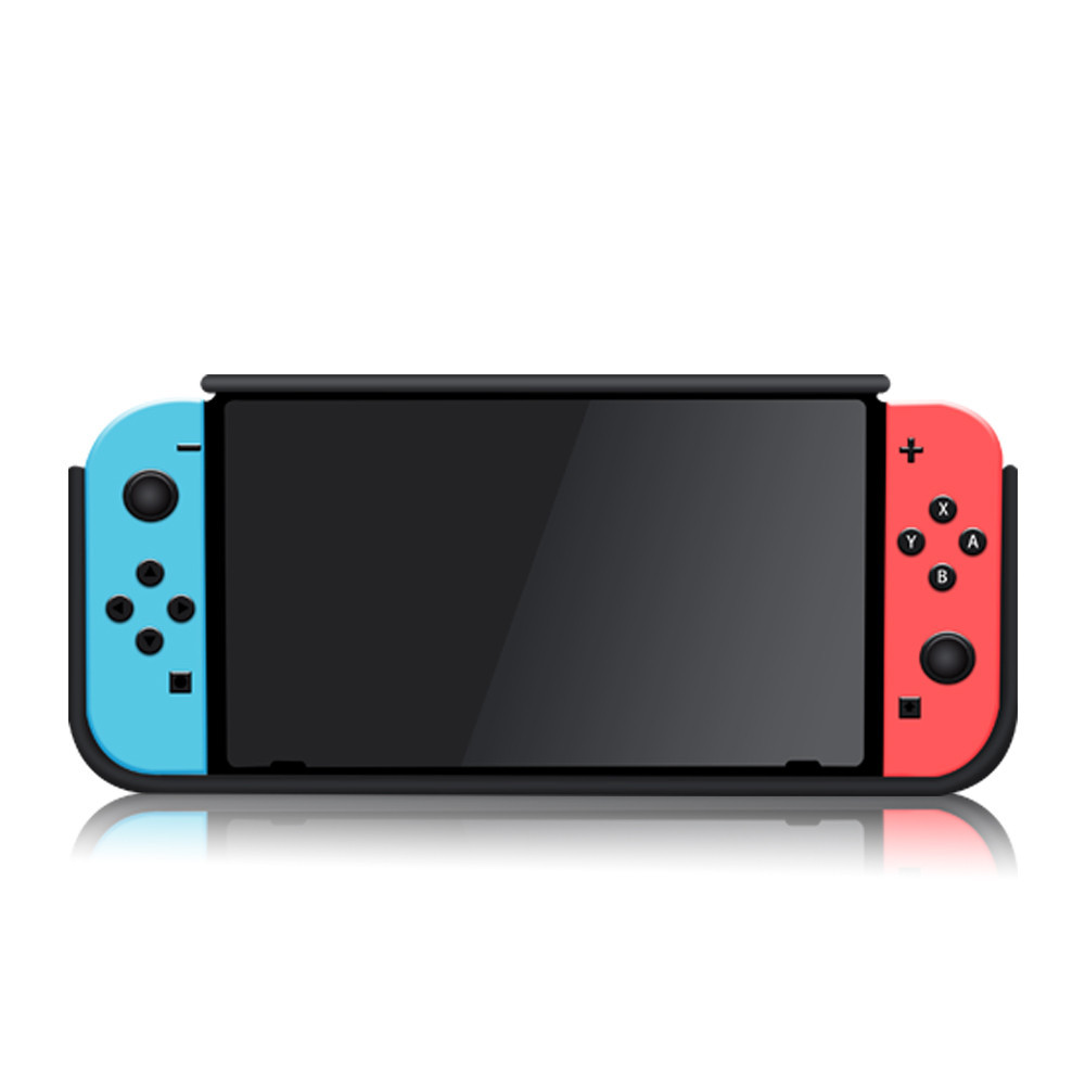 Купить с кэшбэком Protective Case for Nintend Switch NS, Hand Grip Cover Shell W/ Wristband Shock-Absorption Anti-Scratch Stand Cradle Game Store