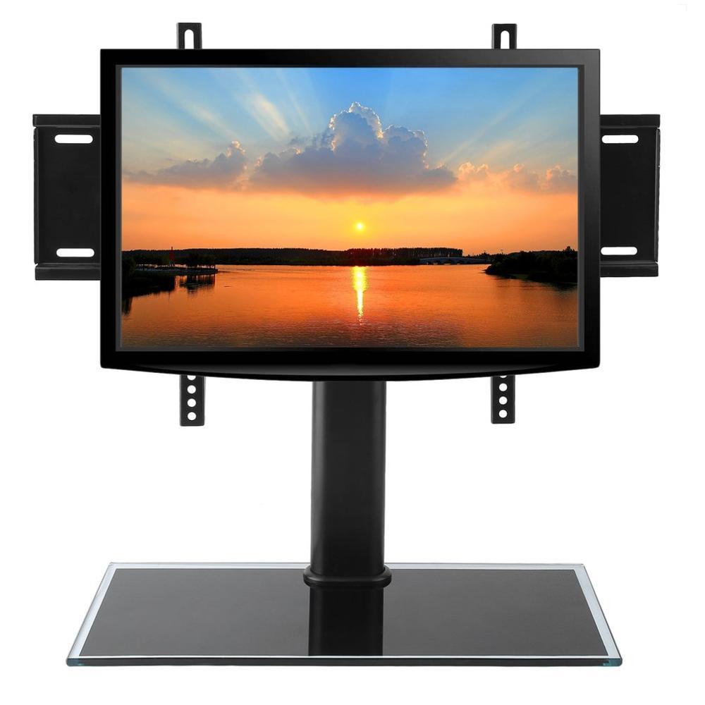 Support de support de télévision Ajustable en hauteur professionnel support de moniteur de bureau Vesa pour téléviseur LCD Plasma LED 37-55 pouces