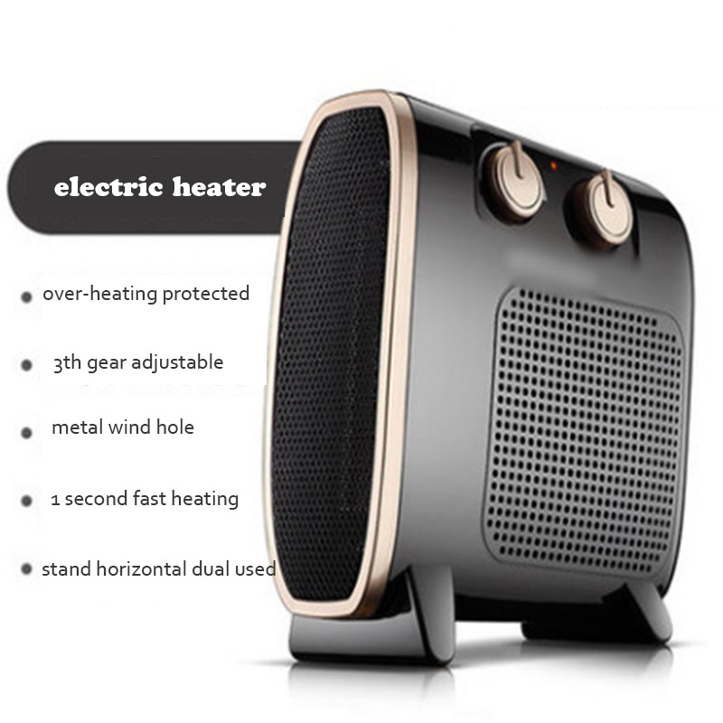Mini Warm Air Conditioner Fan Heater Hot Air Electric Heating Fan Desktop Hand Home Heater Portable Hot Wind Warm Fan for Winter dmwd portable personal heater electric winter mini desktop warm heating fan heater hot air warmer home appliance 220v eu us plug