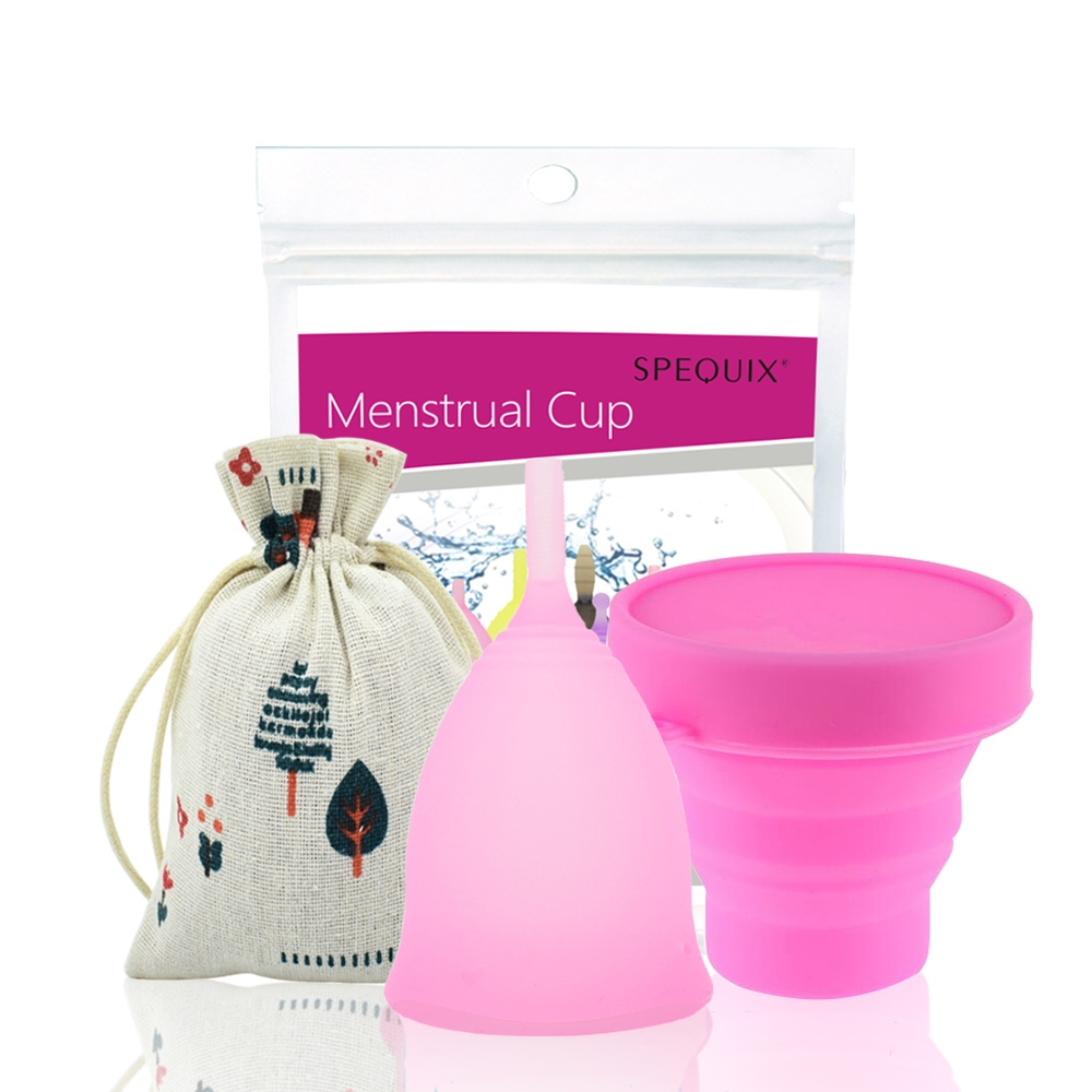 Silicone feminine hygiene Cup With Sterilizing Cup Vagina Care Copa Menstrual De Silicona Medica Periods Cup все цены