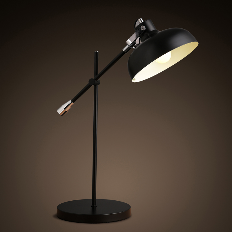 Free shipping The Nordic modern minimalist style iron lamp reading office desk folding arm lamp