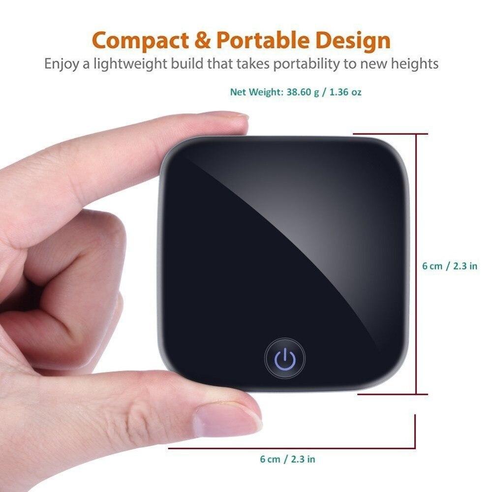 BTI-029 Bluetooth recevoir adaptateur émetteur TOSLINK numérique optique e/s adaptateur Support Bluetooth V 5.0 pour TV DVD Mp3 PC