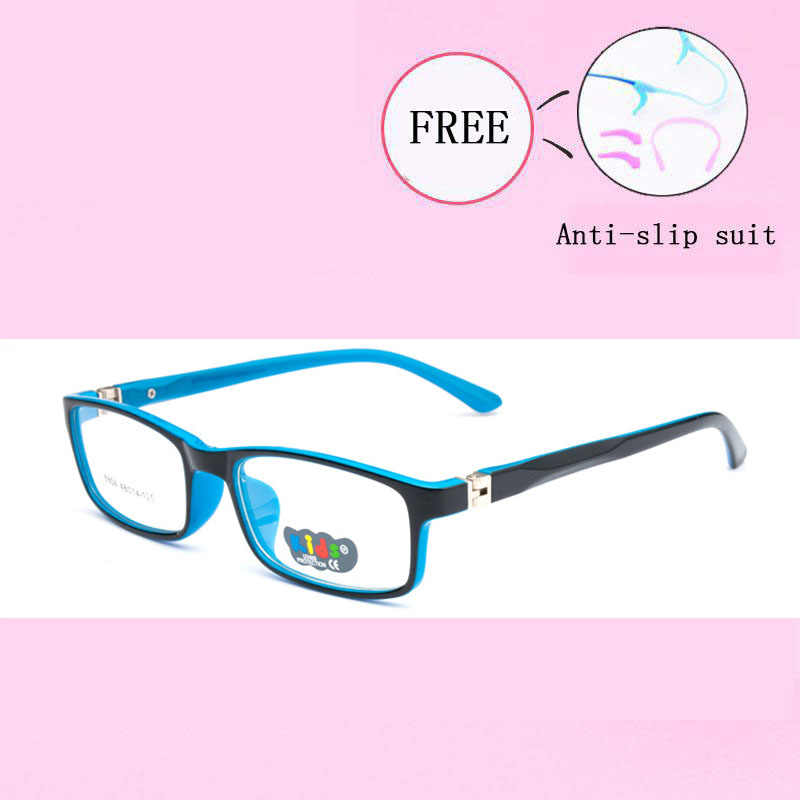 lovely Glasses Frame Children Girl Boy Elastic Glasses Leg Myopia Eyeglass Frame Optical Eyewear Eyeglasses Frame New Y8804-25