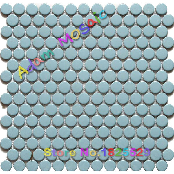 Penny Runde Fliesen Blau Aqua Fliesen Duschwand Materialien Küche U Bahn  Backsplash Materialien