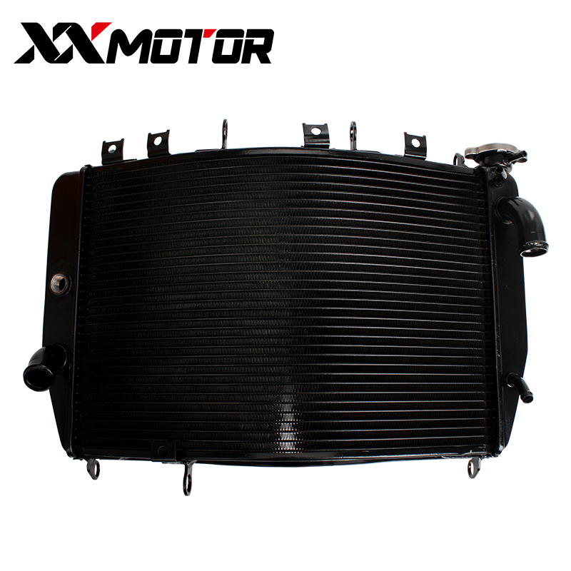 цена на NEW Motorcycle Radiator Cooler Cooling Water Tank For Kawasaki ZX-9R 2000 2001 2002 2003 ZX9R 00-03 ZX 9R Ninja ZX900 ZX900F