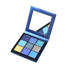 Brand New 9 Color Makeup Palette Nude Eyeshadow 5 Style Shimmer Matte Pigments Waterproof With Mirror