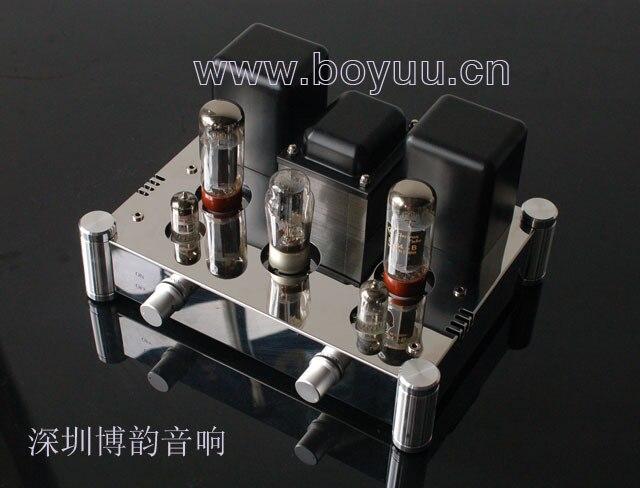 BOYUU A10 EL34 Bube Amplifier  HIFI EXQUIS Single-Ended Class A Lamp Amp BYA10H