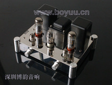 A10 EL34b 5Z4P single-ended tube amplifier rectifier by 6N2 jbh 6n2 6p1 tube amplifier hifi exquis class a single ended lamp amp finished product with below plate