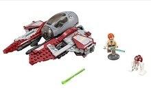 CHINA BRAND bricks toy  DIY Building Blocks Compatible with Lego Star Wars Obi-Wan's Jedi Interceptor 75135