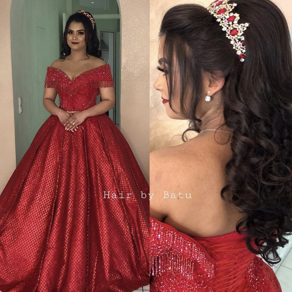 red   prom     dresses   sparkly sequins tassel lace up back floor length evening   dresses   gowns sparkly evening   dresses   gowns arabic