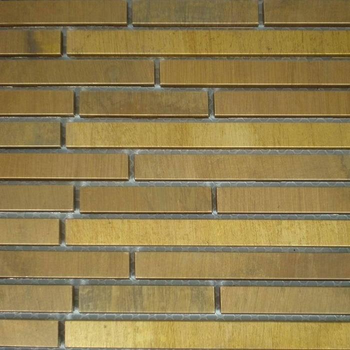 Laiton tuile promotion achetez des laiton tuile for Carrelage exterieur couleur brique