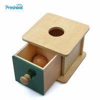 Montessori Kids Toy Baby Wood Ball Matching Box Learning Educational Preschool Training Brinquedos Juguets