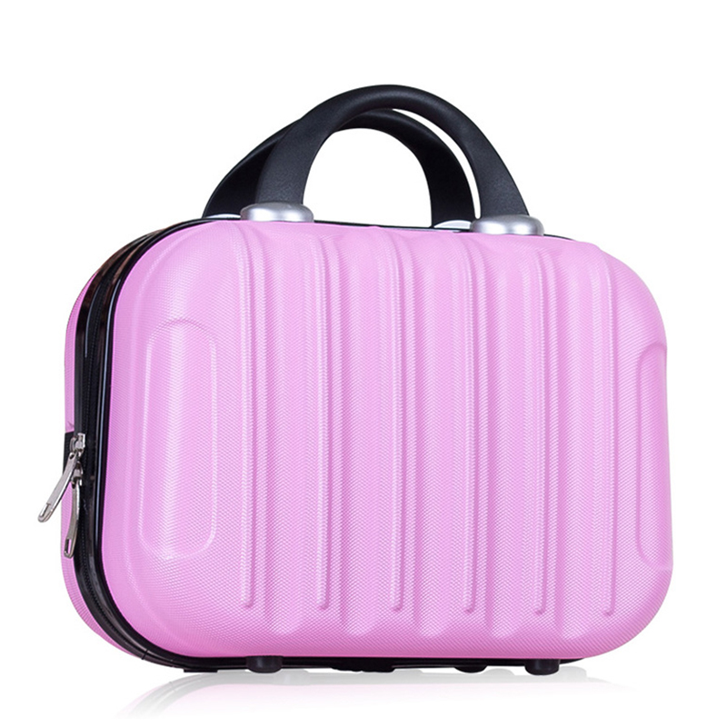 14 Zoll Frau Kosmetische Fall/business Reise Kosmetik Tasche Gepäck/mädchen Kleine Koffer/student Tragbare Reise Fall Elegant Im Stil