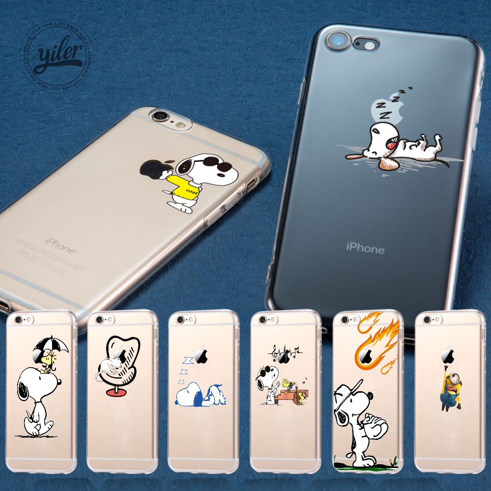 Cute Dog For Funda iPhone 8 Plus Case for iPhone XS Max Shell Soft Cases for iPhone 7 5 5S SE 6 6S 7 8 Plus X XS Max Case Cover