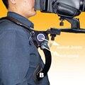 Hands Free Shoulder Pad Support Stabilizer Adjustable with Shoulder Strap carrying bag for Camcorder Video Camera DSLR