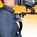 Manos Libres Soporte Estabilizador Hombrera Ajustable con Correa Para el Hombro bolsa de transporte para la Videocámara DSLR Cámara de Vídeo