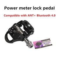 Professional training level road bikes electronic cadence sensor lock pedal bicycle computer for Garmin bryton ANT + Bluetooth 4