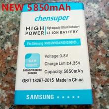 NEW 5850mAh B800BC B800BE Battery for Samsung Galaxy Note 3 III note3 N9000 N9005 N900A N900 N9002 N9008 N9009 N9006 N9008S